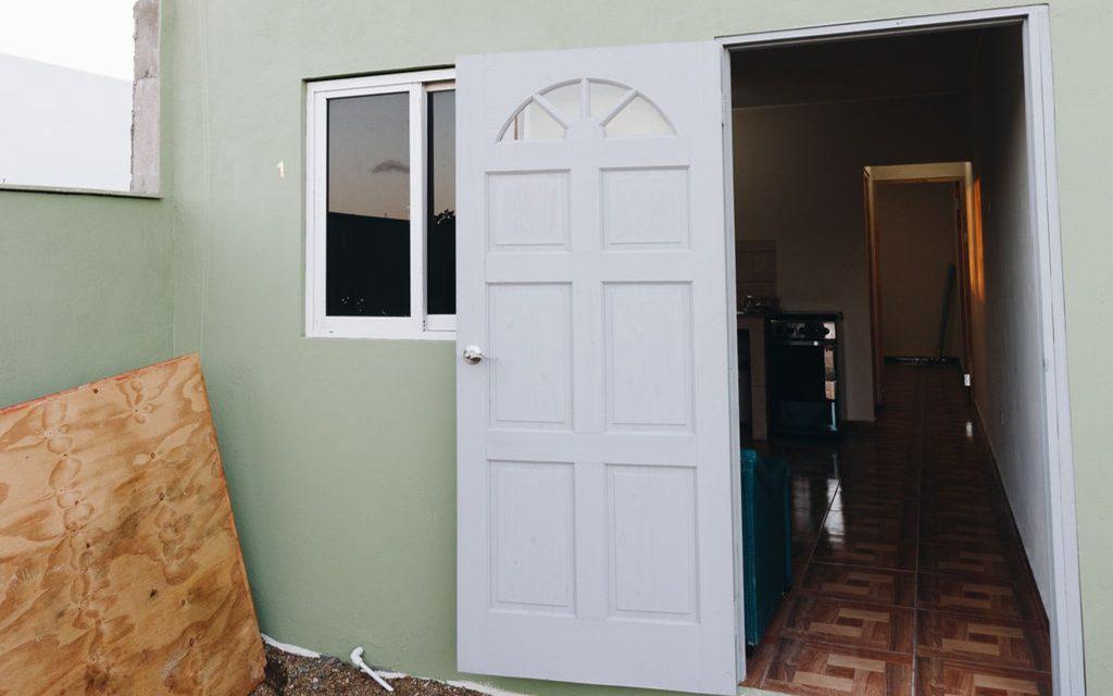 Front Door-Rent-Real Estate-Home-Apartment-Kudawecha-Aruba-For Rent